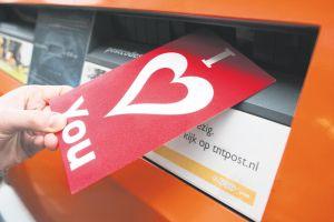 'Montfoorter krijgt de meeste Valentijnskaarten van heel Nederland'