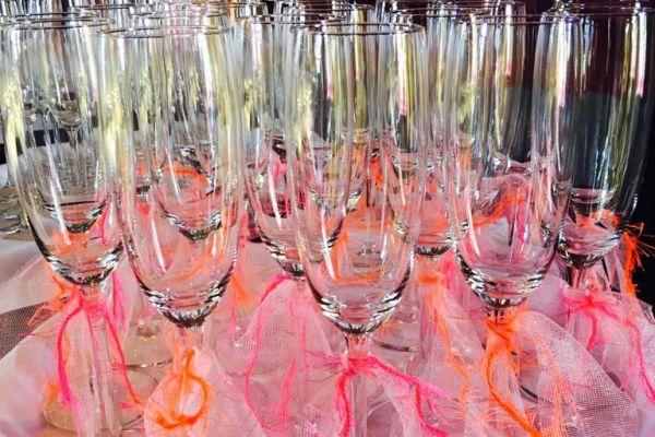 Kleurrijke glazen